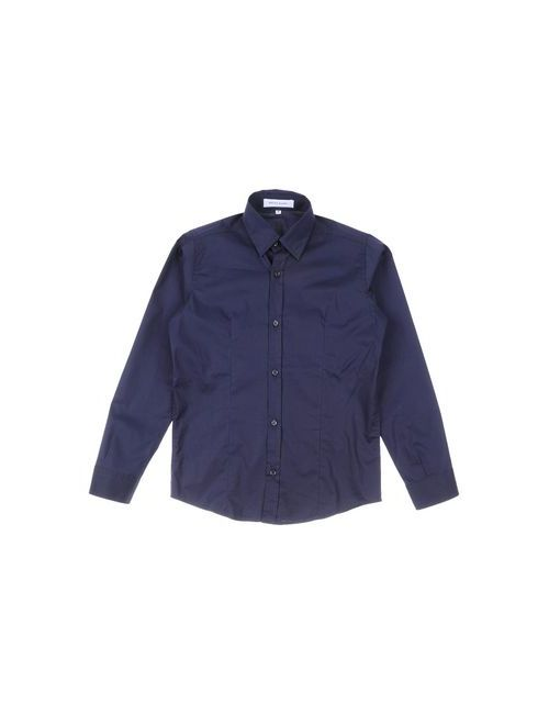 BRIAN RUSH | Женская Синяя Pубашка