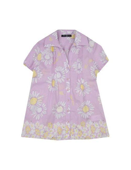 Miss Blumarine Jeans | Женская Фиолетовая Pубашка
