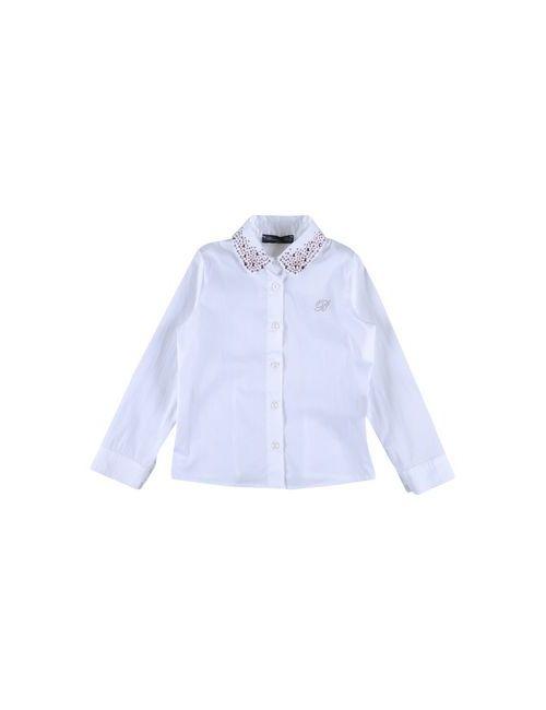Miss Blumarine Jeans | Женская Белая Pубашка