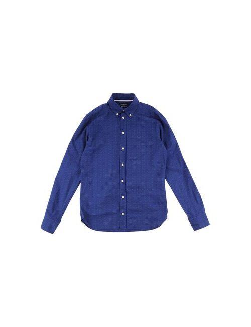 Hackett   Женская Синяя Pубашка