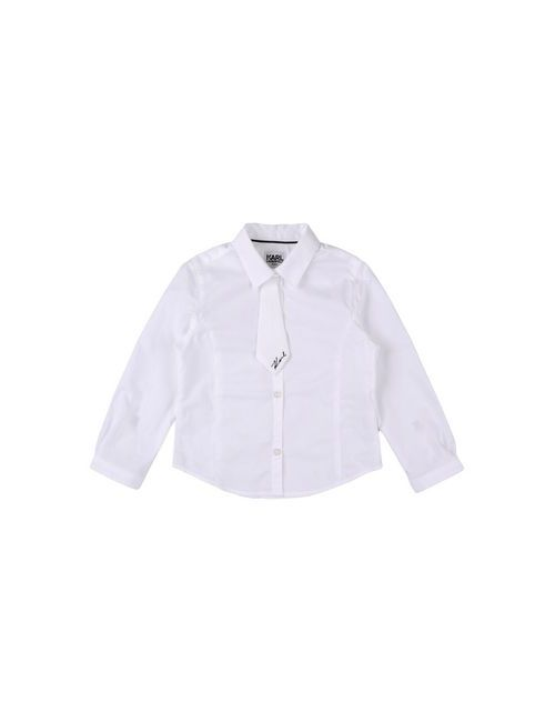 Karl Lagerfeld   Женская Белая Pубашка