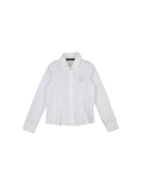 Miss Blumarine Jeans   Женская Белая Pубашка