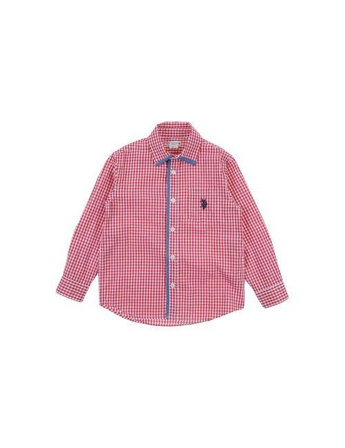 U.S. Polo Assn. | Женская Красная Pубашка