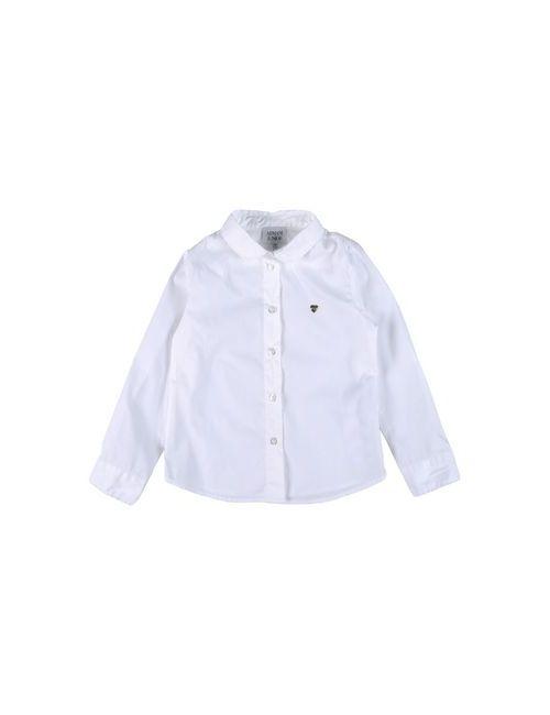 Armani Junior | Женская Белая Pубашка