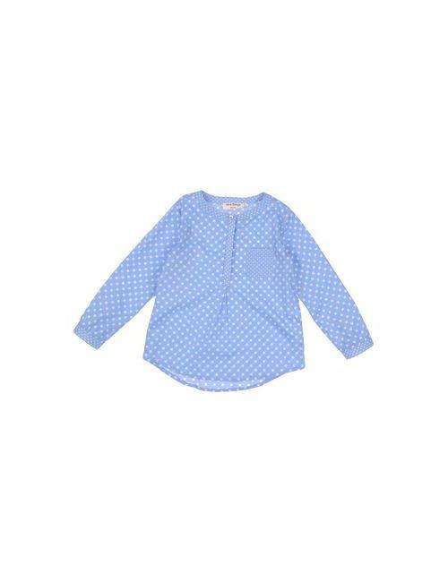 Nice Things Mini | Женская Голуба Pубашка