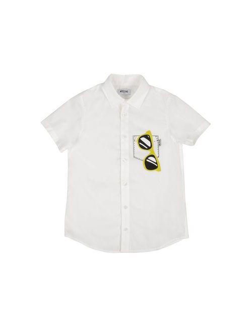 Moschino Teen   Женская Белая Pубашка