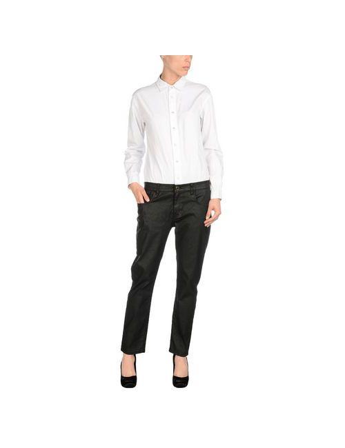 Twin-Set Jeans | Женские Белые Комбинезоны Без Бретелей