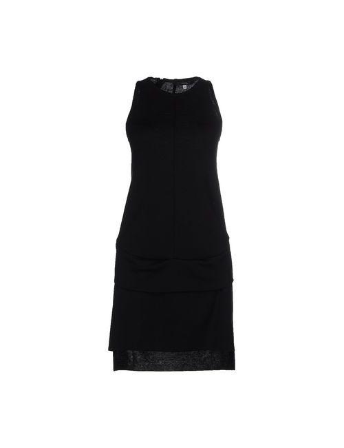 Terre Alte | Женское Чёрное Короткое Платье