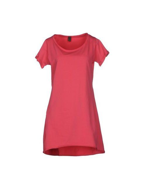 Jijil | Женское Розовое Короткое Платье