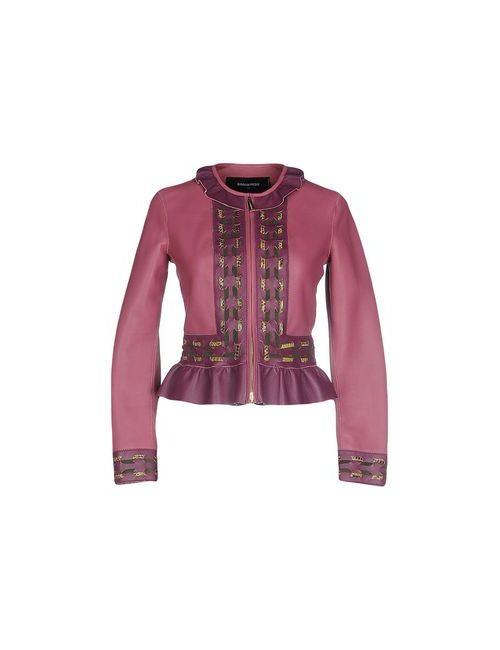 Dsquared2   Женская Розовато-Лиловая Куртка