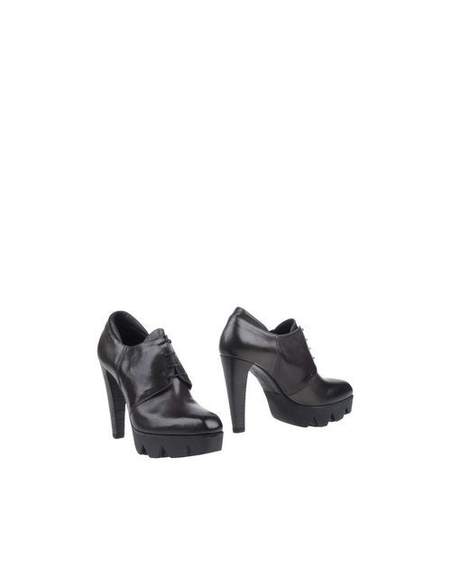 87 VIC MATIĒ | Мужская Чёрная Обувь На Шнурках