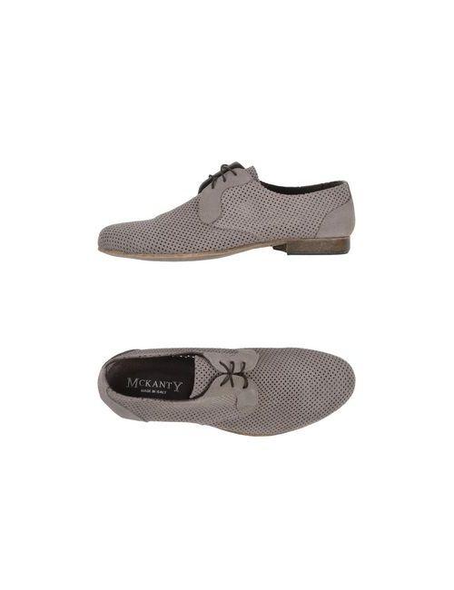Mckanty | Мужская Серая Обувь На Шнурках