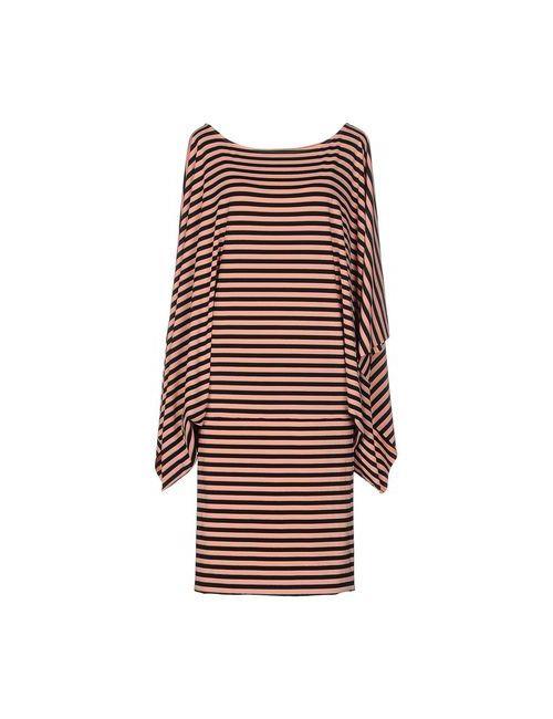 Fisico-Cristina Ferrari | Женское Розовое Платье До Колена