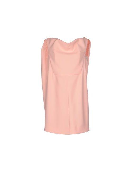 Balenciaga | Женское Розовое Короткое Платье