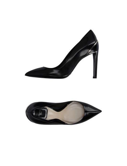 Dior | Женские Чёрные Туфли