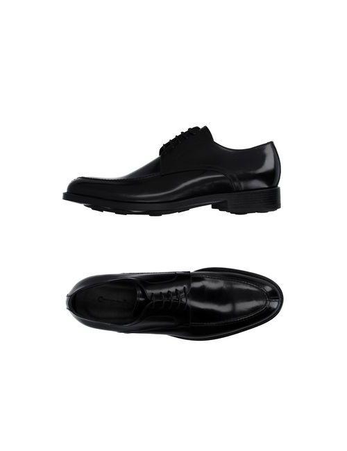 Campanile | Мужская Черный Обувь На Шнурках