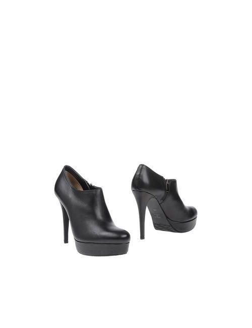 Piumi | Женские Чёрные Ботинки