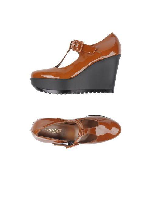 Jeannot | Женские Коричневые Туфли