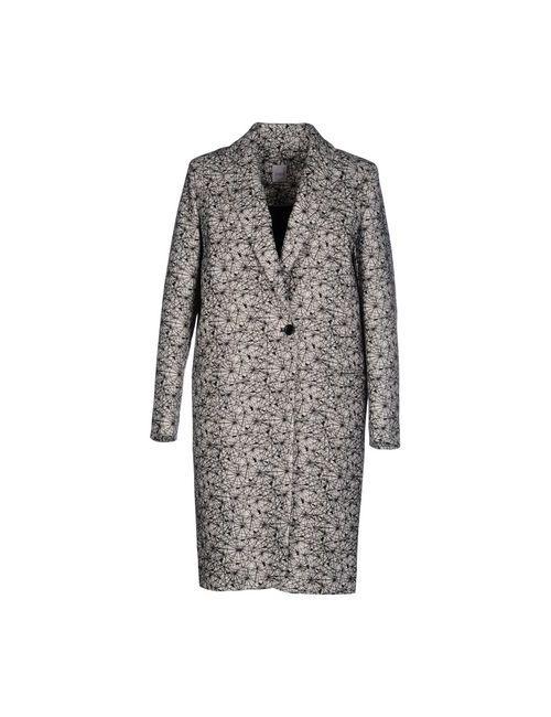 Eggs | Женское Слоновая Костящее Пальто