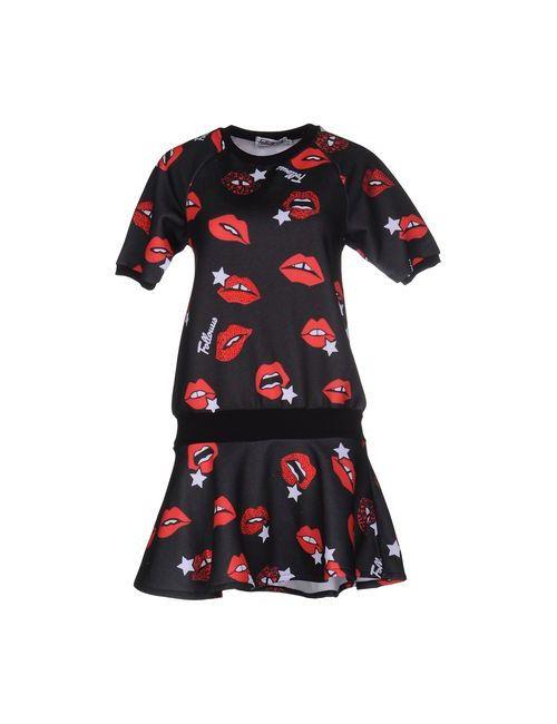 FOLLOW US | Женское Чёрное Короткое Платье
