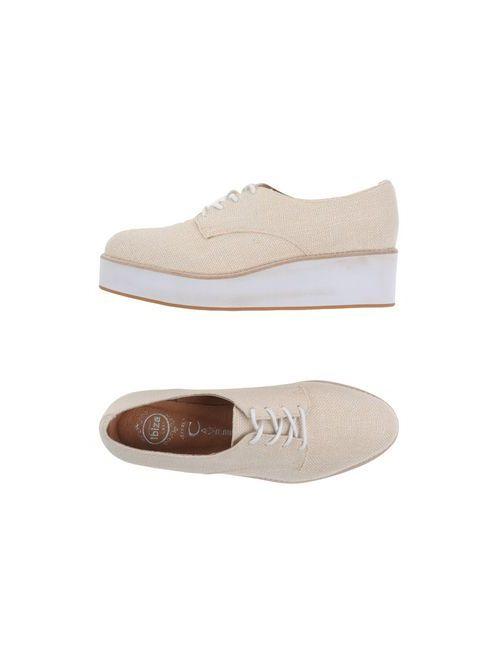 Jeffrey Campbell | Мужская Бежевая Обувь На Шнурках