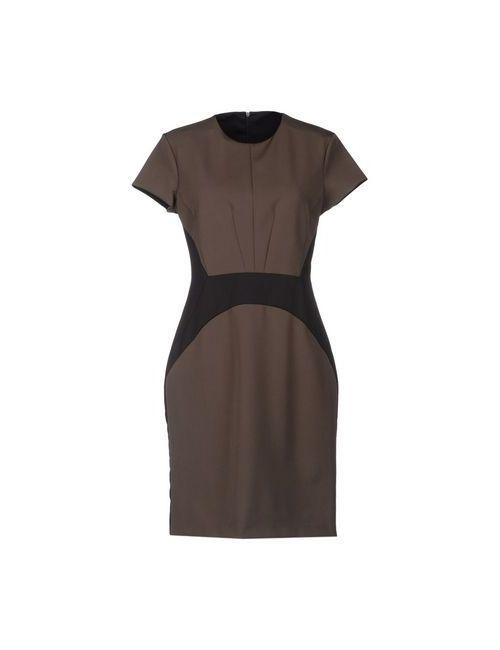 Set | Женское Серое Короткое Платье
