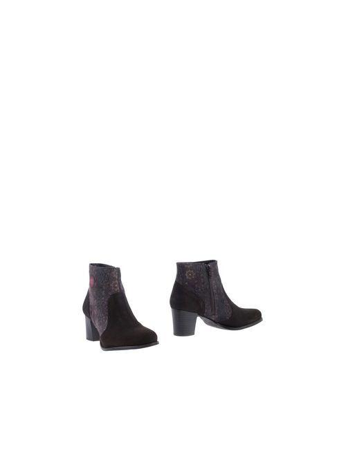 Desigual | Женские Коричневые Полусапоги И Высокие Ботинки