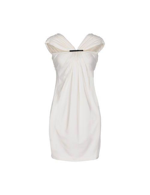 Plein Sud | Женское Белое Короткое Платье