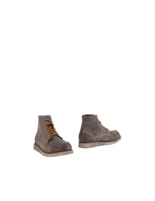 Yukon Jones | Мужские Серые Полусапоги И Высокие Ботинки