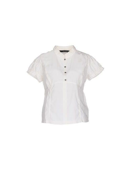 Calvin Klein Jeans | Женская Белая Блузка