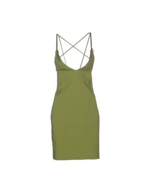 Dsquared2 | Женское Зелёное Короткое Платье