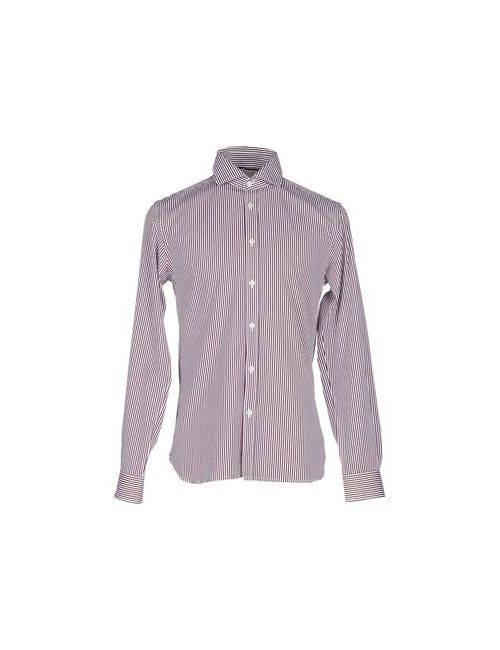 Jack & Jones Premium   Мужская Коричневая Pубашка