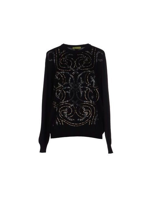 Versace Jeans | Чёрный Свитер