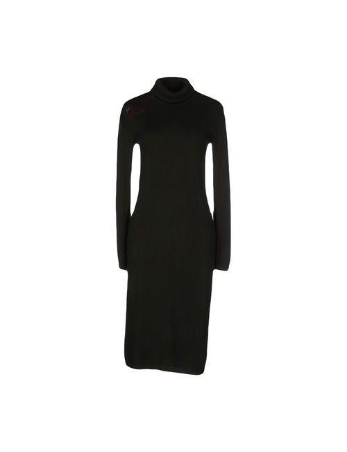 Ralph Lauren Black Label | Женское Зелёное Платье До Колена