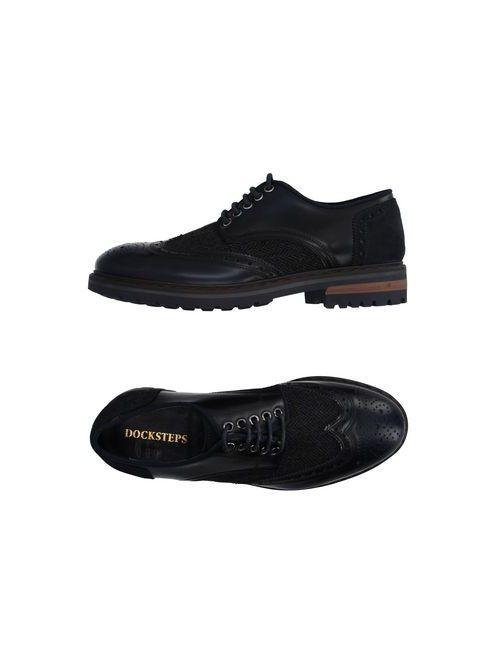 Docksteps   Мужская Синяя Обувь На Шнурках