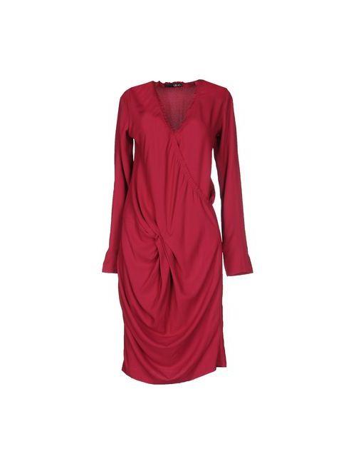 Liu •Jo   Женское Фиолетовое Короткое Платье