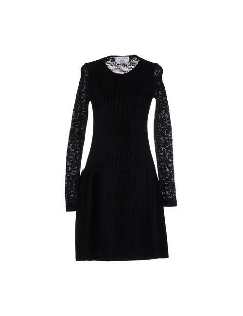 Sonia Rykiel | Женское Чёрное Платье До Колена