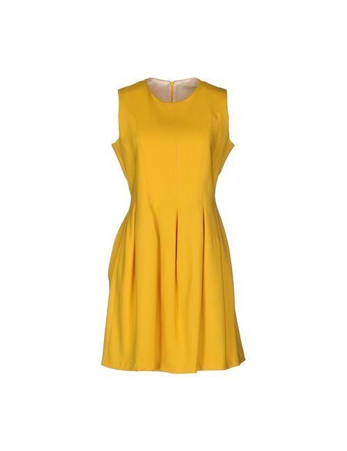 M.Grifoni Denim | Женское Жёлтое Короткое Платье