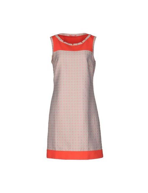 Purotatto | Женское Бежевое Короткое Платье