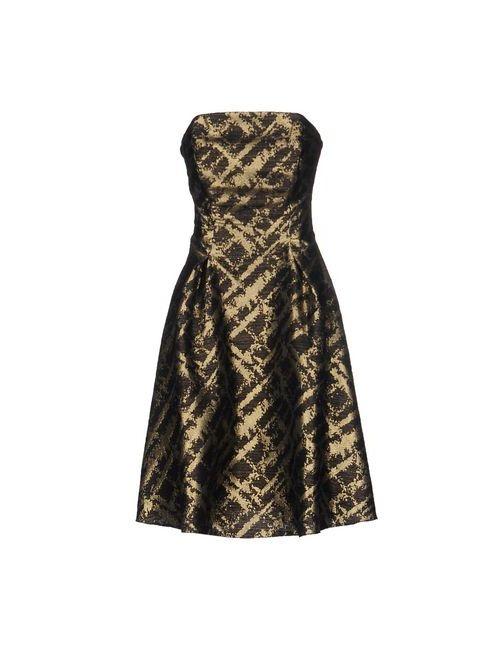 Musani Couture | Женское Чёрное Короткое Платье