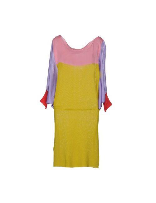 Paolo Errico | Женское Розовое Короткое Платье