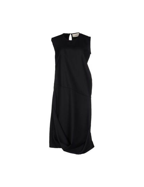 Ports 1961 | Женское Чёрное Платье До Колена