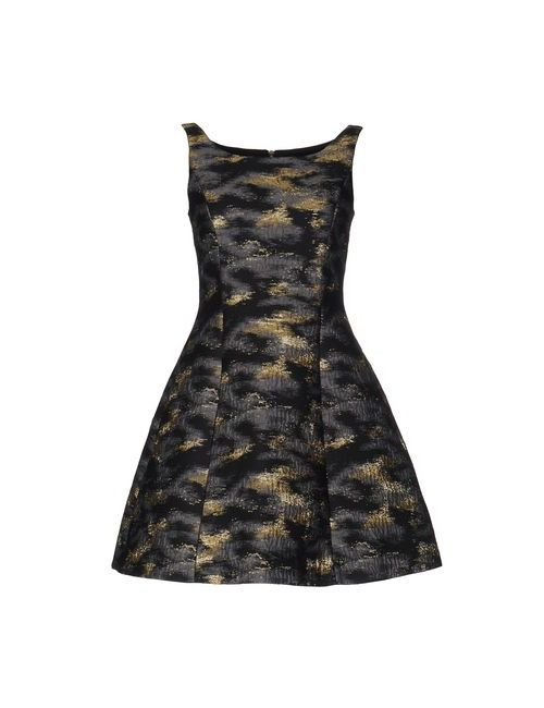 Markus Lupfer | Женское Серое Короткое Платье