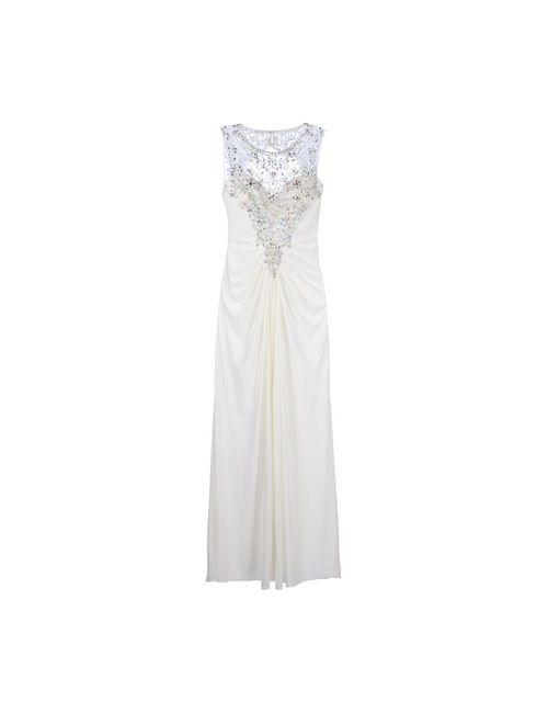 FOREVER UNIQUE | Женское Белое Длинное Платье
