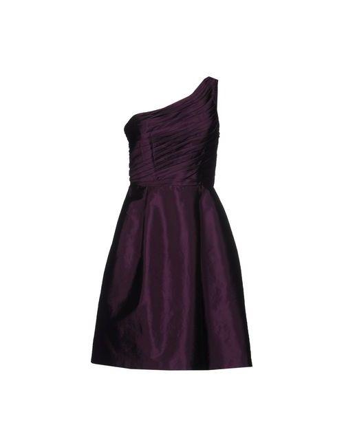 Musani Couture | Женское Фиолетовое Короткое Платье