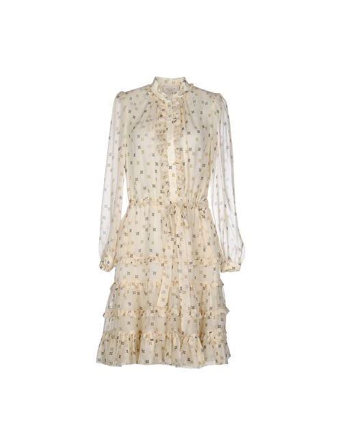 Paul & Joe | Женское Слоновая Костящее Короткое Платье
