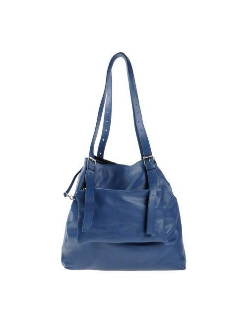 MM6 by Maison Margiela   Женская Синяя Сумка На Плечо