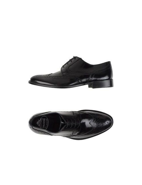 Brawn'S | Мужская Черный Обувь На Шнурках