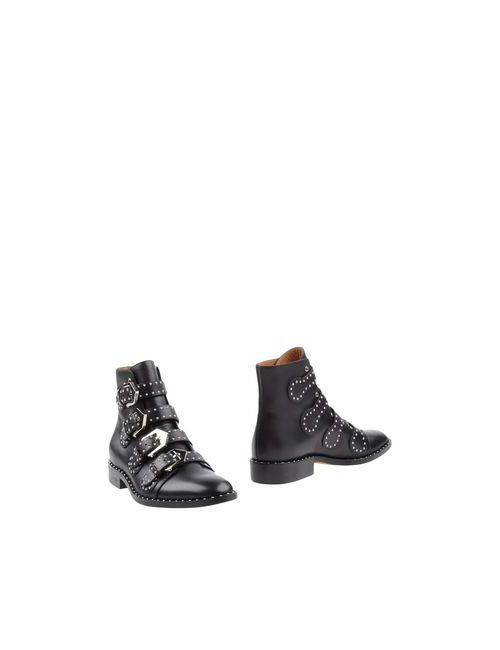 Givenchy   Мужские Чёрные Полусапоги И Высокие Ботинки