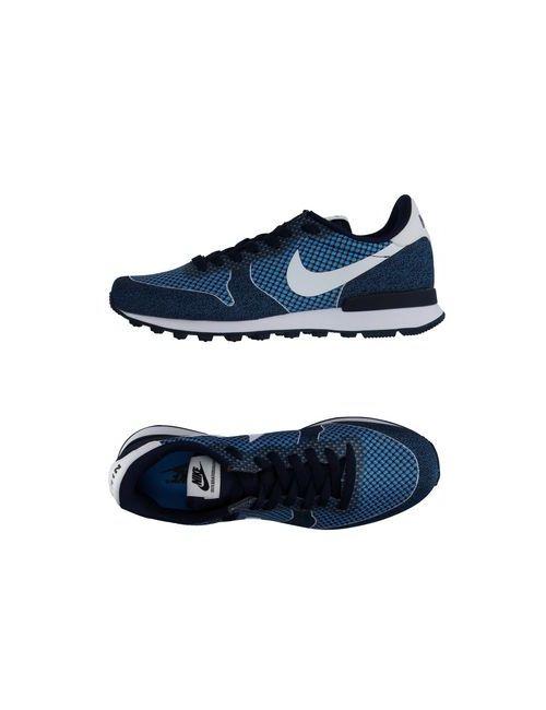 Nike   Мужские Лазурные Низкие Кеды И Кроссовки